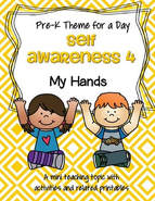 Hands activity pack