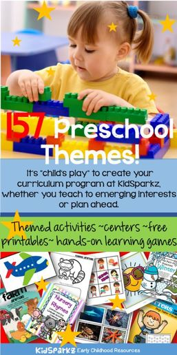 Preschool science free lesson plan and activities about